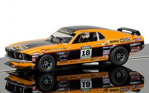 1:32 Scalextric 1969 Ford Mustang 2011 Clipsal #18 John Bowe