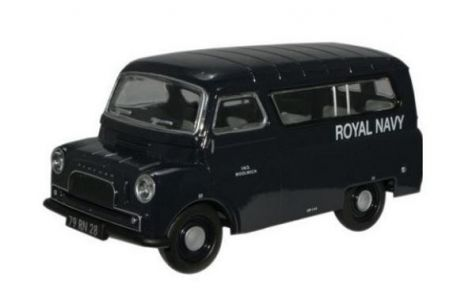 1:43 Oxford Diecast Bedford CA Minibus in Royal Navy Livery CA025