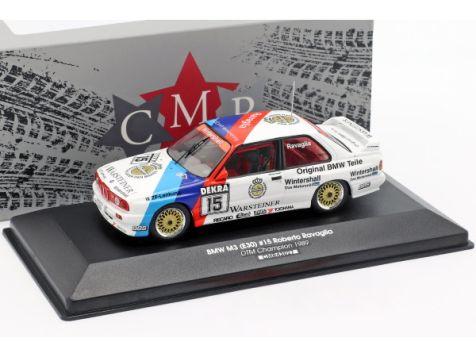 1:43 CMR 1989 BMW M3 E30 #15 Roberto Ravaglia DTM Champion