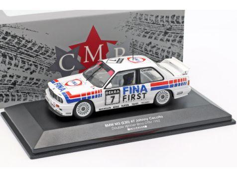 1:43 CMR 1992 BMW M3 (E30) #7 Johnny Cecotto