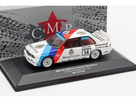 1:43 CMR 1992 BMW M3 (E30) #14 Joachim Winkelhock