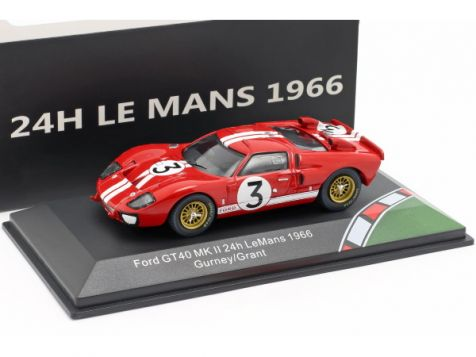 1:43 CMR 1966 Ford GT40 MkII #3 Gurney/Grant 24h LeMans
