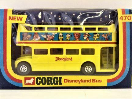Corgi - Disneyland Bus London Route Master  - Item #470