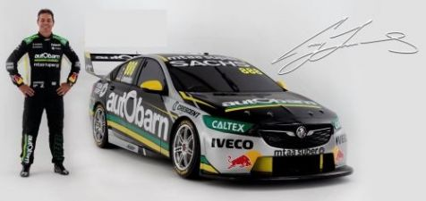 2018 1:12 Biante Bathurst Winning Holden ZB Commodore #888 Lowndes/Richards Autobarn Racing
