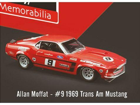 1:64 DDA 1969 Trans-Am Mustang #9 Allan Moffat Coca-Cola Livery