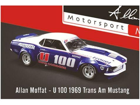 DDA16400-A 1:64 DDA 1969 Trans-Am Mustang #9 Allan Moffat Coca-Cola Livery