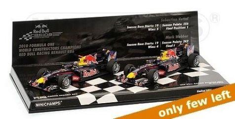 1:43 Minichamps 2010 Formula One World Constructors Champions - Renault RB6