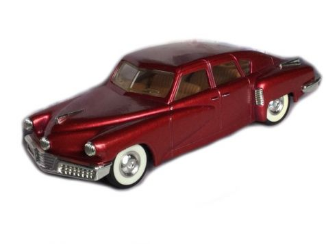 1:43 Dinky 1948 Tucker Torpedo Metallic Red DY-11B