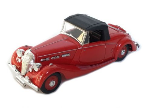 1:43 Dinky Collection - 1939 Triumph Dolomite  Convertible in Red DY-S 17