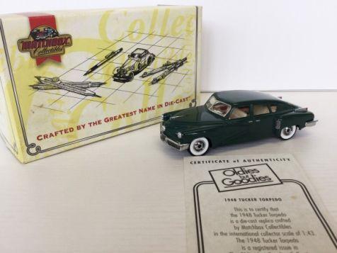 1:43 Matchbox Collectibles 1948 Tucker Torpedo