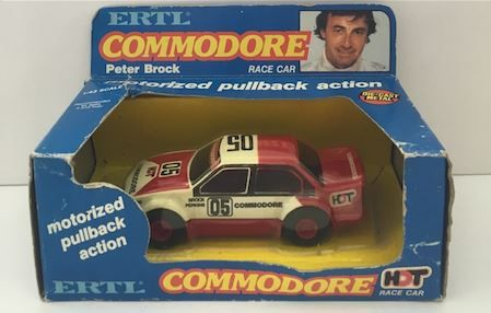 Peter Brock ERTL 1:43 HDT Holden VH Commodore Motorized Pull Back Diecast Model