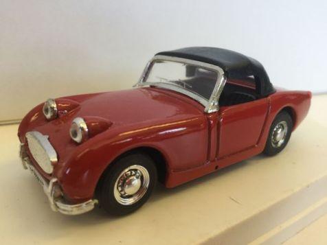"1:43 EXEM 1958 Austin Healey Mk I ""Frogeye"" Red EX 11"