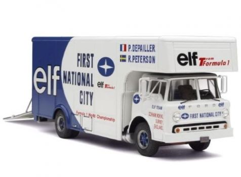 1:43 EXOTO Ford Type 'C' Truck F1 Race Car Transporter