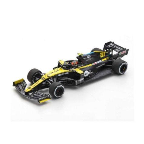 Renault F1 R.S. 20 -  1:43 Model Car#3 Daniel Ricciardo - 3rd, 2020 Eifel GP -