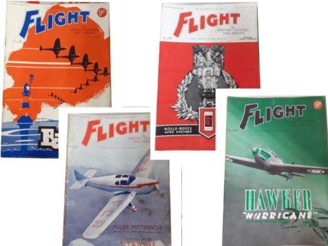 Flight: The Aircraft Engineer & Airships Set 1 No. 1537, 1538, 1539 & 1540