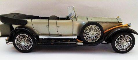 1:24 Franklin Mint 1925 Rolls-Royce Silver Ghost Diecast Model
