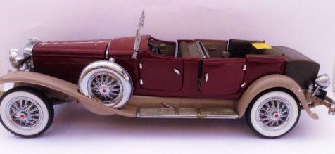 1:24 Franklin Mint 1930 Duesenberg J Derham Tourster