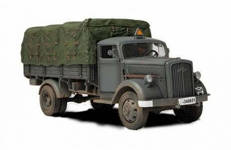 1:32 Forces of Valor German 3 Ton Cargo Truck (Covered - No Figures) - Eastern Front 1941