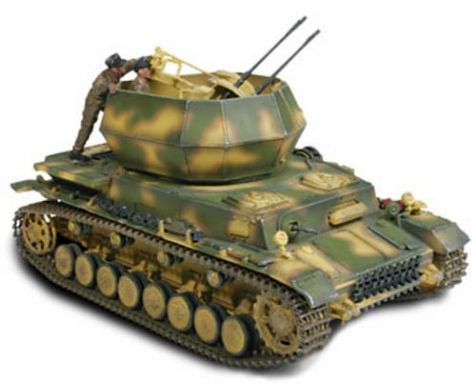 1:32 Forces of Valor German Flakpanzer IV Wirbelwind - Poland 1944 Diecast Military Model