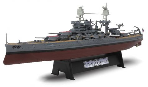 1:700 Forces of Valor USS Arizona BB-39 - Pearl Harbour 1941 diecast model