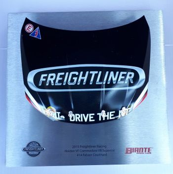 Signature Bonnet by Biante Model Cars.  1:10 scale model of the 2015 Freightliner Racing Holden Bonnet