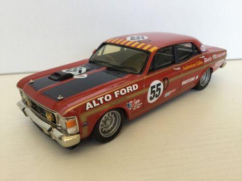 1:24 Dinkum Classics 1969 Bathurst Ford XW Falcon #55D Brown/West FXW 411