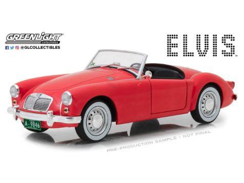 1:18 Greenlight Elvis' 1959 MG A 1600 Roadster MK I