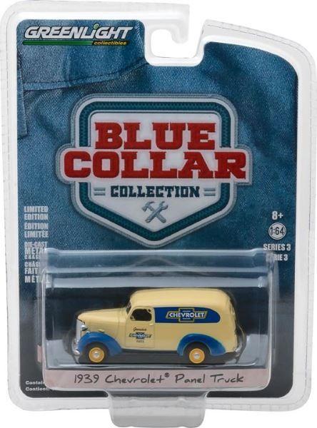 "1:64 Greenlight ""Genuine Chev Parts"" 1939 Chevrolet Panel Truck 35080-A"