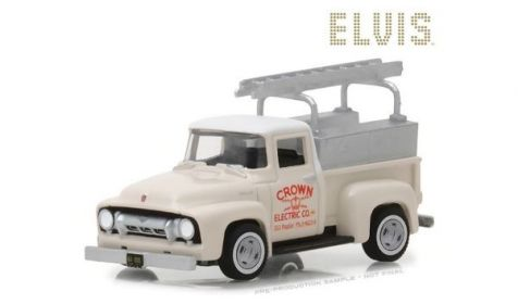 1:64 Greenlight Elvis Presley 1954 Ford F-100 Truck 'Crown Electric Company' 44800