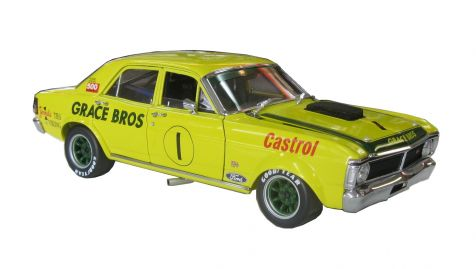 1:18 Classic Carlectibles The GT-HO Super Falcon Limited Edition 1972 ATCC Last Race Oran Park- 2nd Place Grace Bros