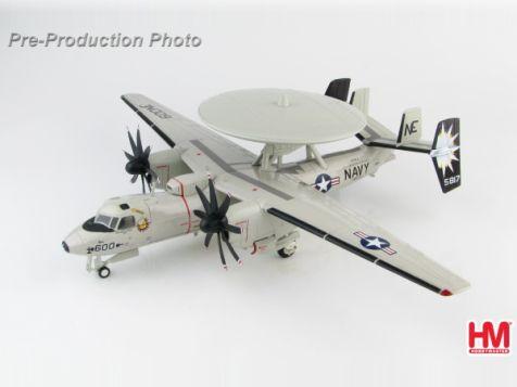 """1:72 Hobby Master Northrop Grumman E-C Hawkeye 165817 """"Elvis"""", VAW-116 """"Sun Kings"""", May 2007"""