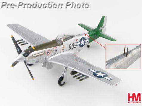 1:48 Hobby Master P-51D Mustang Capt. Abner M. Aust, Jr. Iwo Jima, 1945
