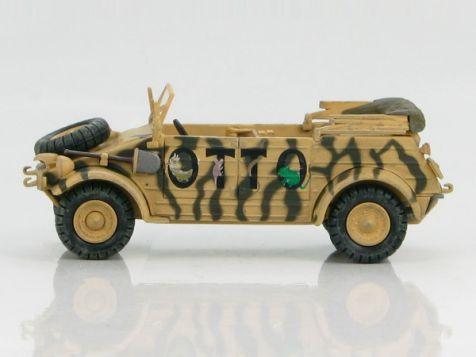 "1:48 Hobby Master German Kubelwagen Type 82, Hans Joachim Marseille's ""OTTO"""