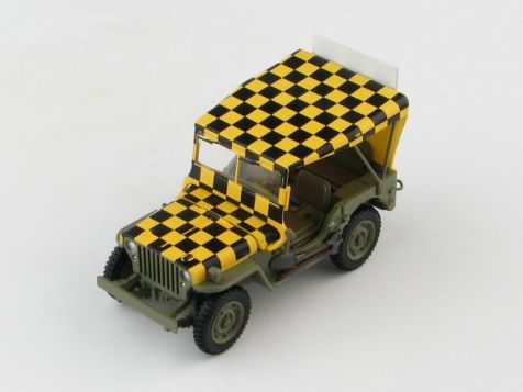 """1:48 Hobby Master US Willy's Jeep """"Follow Me"""" US Army Air Force, WWII"""