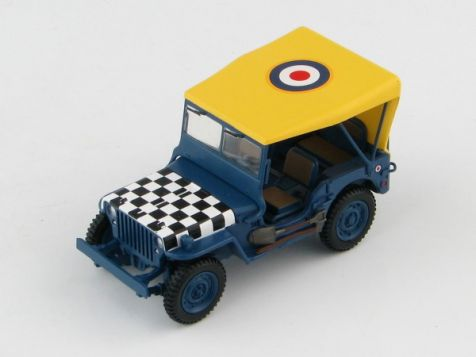 "1:48 Hobby Master Willys Jeep ""Follow Me"" RAF WWII"
