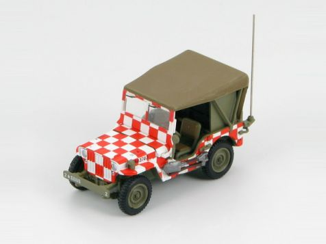 "1:72 Hobby Master Willys MB Jeep ""Follow Me"" Airfield Jeep USAAF,Iowa"