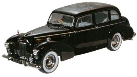 1:43 Oxford Diecast Black King George VI B71 Humber Pullman Limousine HPL003