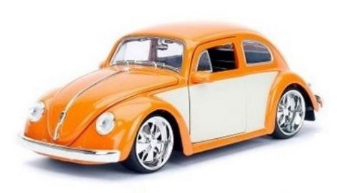 1:24 Jada 1959 Volkswagen Beetle Orange JA-99018