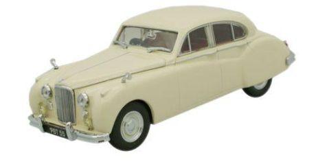 1:43 Oxford Diecast Jaguar MK VIIM Ivory JAGVII006
