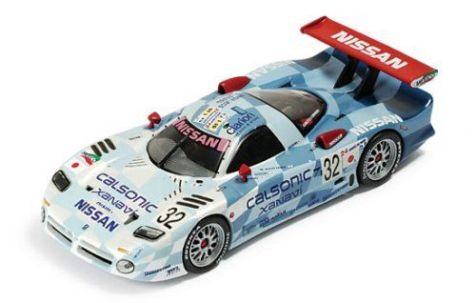 "1:43 IXO Nissan R390 GT1 ""Calsonic"" #32 Le Mans 1998"