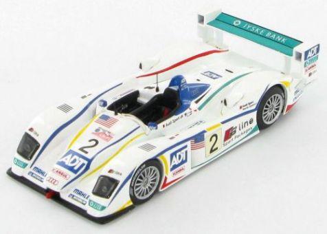1:43 IXO Audi R8 Champion Racing Team #2 3rd Le Mans 2005