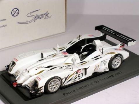 1:43 Spark Panoz LMP07 #50 Sebring 2002 D. Brabham - J. Magnussen