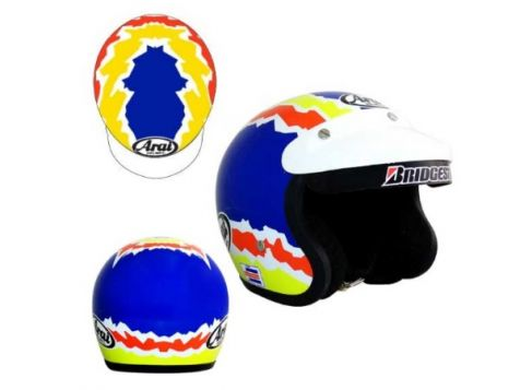 1:2 Mini Helmets Glenn Seton 1993 to 1995 Helmet Replica Model
