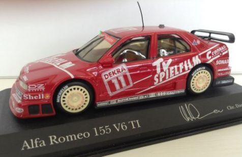 1:43 Minichamps Alfa Romeo 155 V6 TI DTM '94 #11 430940211