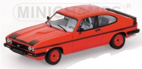 1:43 Minichamps Ford Capri III GT4 red 400082225