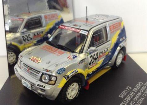 1:43 VITESSE Mitsubishi Pajero Rallye Paris-Dakar-Cairo 2000 SKM173