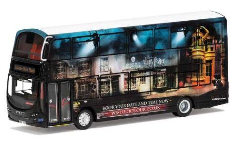 1:76 Corgi Wright Eclipse Gemini 2 Harry Potter Warner Bros. Studio Shuttle Bus