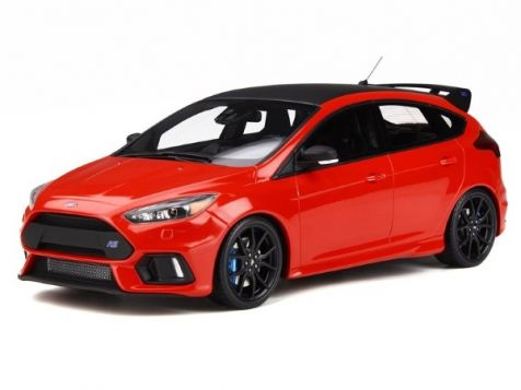 1:18 Otto Models 2017 Ford Focus RS in Race Red