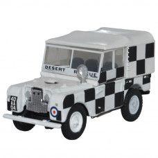 1:76 Oxford Military Diecast model.  Land Rover RAF , Tripoli, Desert Rescue Team