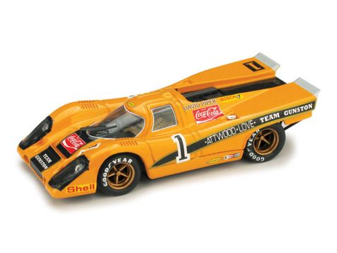 1:43 BRUMM Porsche 917K 9h Kyalami 1971 Scuderia Gunston-David Piper Racing #1 R423